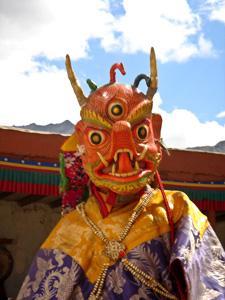 Тур в Индию. Ладакх. Фестиваль в монастыре Фьянг