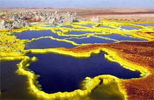 Тур в Эфиопию. Пустыня Данакиль