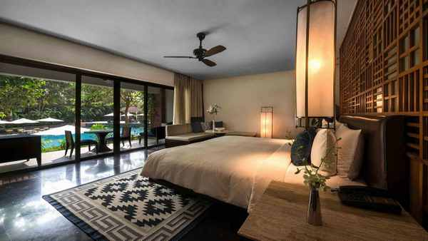 Отель Alila Diwa 5* в Гоа. Номер Diwa Club room
